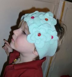 macaroni & cheese: Tutorial: A Fleece Earband with Pattern!