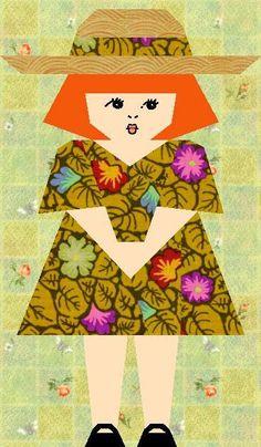 Sophie Claire Paper Pieced Quilt Block