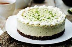 Chocolate and Lime Cheesecake
