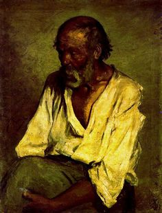 The old fisherman Artist: Pablo Picasso Completion Date: 1895 Style: Realism Period: Early Years Genre: portrait Technique: oil Material: canvas Dimensions: 83 x 62.5 cm Gallery: Abadia de Montserrat, Monistrol de Monserrat, Spain