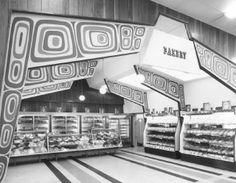 Thriftway Supermarket at Tacoma Mall, Tacoma, WA 1965
