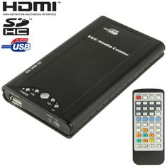 [$22.40] 2.5 inch HDD Media Player, Support HDMI / AV Output / SD / MMC / MS Card