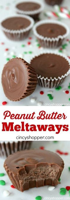 Peanut Butter Meltways are so EASY to make! : Peanut Butter Meltaways Recipe These Peanut Butter Meltaways are creamy and rich with smooth Peanut Butter that just melts in your mouth! I am super amazed at how easy they really are to Peanut Butter Meltaways Recipe, Peanut Butter Recipes, Fudge Recipes, Candy Recipes, Sweet Recipes, Cookie Recipes, Dessert Recipes, Peanut Butter Cups, Holiday Baking