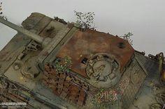 Late Panther Ausf. A--豹A后期型(威龙)_静态模型爱好者--致力于打造最全的模型评测网站