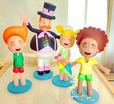 Bita e as crianças  #mundobita  #bita  #bonecobita #bitaenfeite #decoracaoinfantil  #crianças