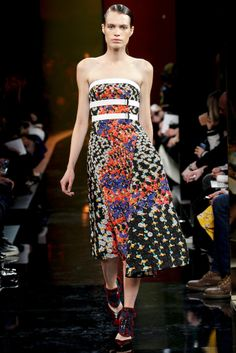 Peter Pilotto - London Fashion Week - Otoño Invierno 2014/2015 - Fashion Runway