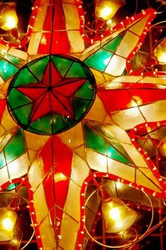 Christmas parol, I missed the celebration of Christmas in the Philippines... :(