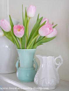 Spring Flower Arrangements - Live Creatively Inspired