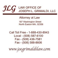 Www.joegrimaldilaw.com @GrimaldiLaw Immigration, Real Estate, Personal  Injury The Law