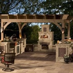 Outdoor kitchen | outdoor ideas