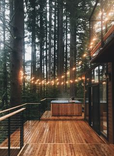The Woodlands House is a Wedding Venue in Sandy, Oregon, United States. See photos and contact The Woodlands House for a tour. Cozy Cabin, Cozy Cottage, Cozy House, Rustic Cottage, Cottage Ideas, Woodland House, Forest House, Cabins In The Woods, House In The Woods