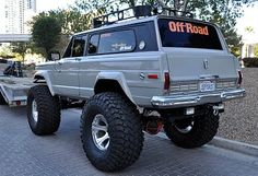#Jeep Cherokee Chief from the 2010 SEMA show in Las Vegas.
