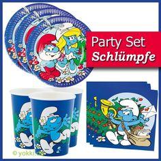 Schlümpfe - Party Paket basic