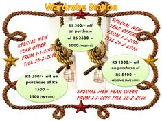 Wardrobe Station - Google+ New Year Offers, Place Card Holders, Kurti, Sarees, Campaign, Android, Content, Sign, Medium