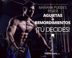 Mañana puedes tener agujetas o remordimientos ¡Tú decides! #fitness #motivation #motivacion #gym #musculacion #workhard #musculos #fuerza #chico #chica #chicofitness #chicafitness #sport