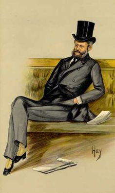 Baron Ferdinand Rothschild as caricatured in Vanity Fair, 1889    http://www.antiquemapsandprints.com/scansj/j-20127.jpg