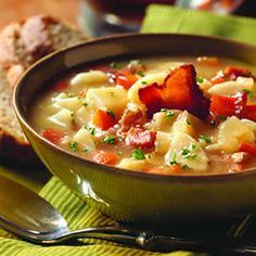 German Potato Salad Soup, will have to try! #soup #comfort
