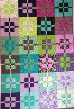 Presents Lap Quilt  51 x 77 by clubaloha on Etsy, $175.00