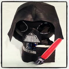 Our Darth Vader Coin Bank!
