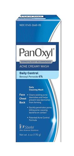 Panoxyl 4 Acne Creamy Wash, 6-Ounce * This is an Amazon Affiliate link. Visit the image link more details.