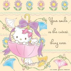 Charmmy Kitty Hello Kitty Images, Sanrio Hello Kitty, Sanrio Characters, Pretty Wallpapers, My Melody, Baby Cards, Kittens Cutest, Pikachu, Little Girls