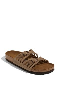 Granada Soft Footbed Oiled Leather Sandals