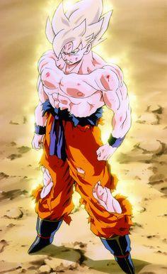 Goku super saiyan dragon ball z Dragon Ball Z Shirt, Dragon Ball Gt, Anime Expo, Manga Anime, Akira, Super Saiyan 1, Figurine Dragon, Wallpaper Animes, Son Goku