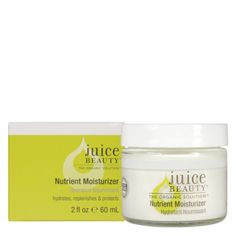 "Juice Beauty: Nutrient Moisturizer / ""This nutrient-rich moisturizer hydrates and replenishes with calming botanicals, fatty acid-rich plant oils and vitamin antioxidants for ageless healthy skin. A Daily Essential for all skin types."" / $36.00"