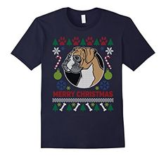 Boxer Dog Breed Owners Ugly Christmas T-shirt