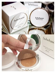 """Sulwhasoo Perfecting Cushion"" by niniko-cosmetics ❤ liked on Polyvore featuring beauty"