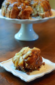 Easy Maple Pecan Monkey Bread, although I will NOT be making anything bad anymore.. I will make this someday, it reminds of my buddy Nancy, she used to make the best monkey bread