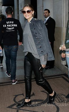 17e9cad25412 ... Patch Sweater and Banana Republic X Olivia Palermo Corduroy Military