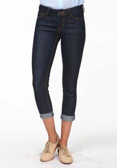 Cute! #amethyst 3 button denim #capri #jean $21.37 | Fashion wants ...