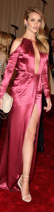 Sexy Red Carpet fashion dress