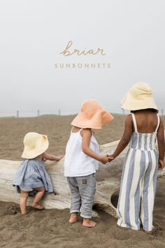 Briar Baby - Stylish and Functional Bonnets for Your Little One Girl Fashion Style, Kids Fashion, Summer Hats, Kids Hats, Kid Styles, Baby Sewing, Toddler Girl, Baby Girls, Baby Hats