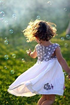 Little Girl Dancing...