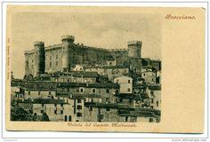 Italien - Inizi '900, Bracciano (Roma), Veduta dal Castello Medioevale, FP NV