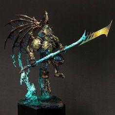 Warhammer 40k Figures, Warhammer Paint, Warhammer Models, Warhammer 40k Miniatures, Warhammer Fantasy, Warhammer 40000, Warhammer Vampire Counts, Dark Angels 40k, Dungeons And Dragons Miniatures