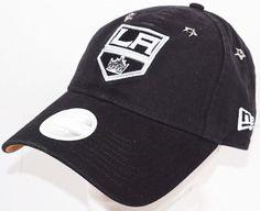 hot sale online 6228f a49fc LOS ANGELES LA KINGS WOMENS HAT - NHL HOCKEY OEM NEW ERA 9TWENTY ONE SIZE  NEW