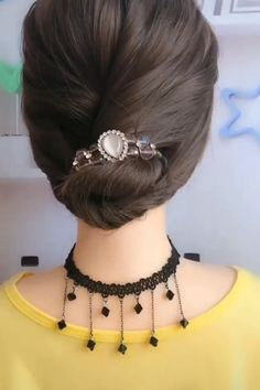 Easy Hairstyle Video, Bun Hairstyles For Long Hair, Bridal Hairstyles, Dinner Hairstyles, Greek Hairstyles, Office Hairstyles, Anime Hairstyles, Stylish Hairstyles, Hairstyles Videos