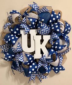 Kentucky+Wreath+by+WreathsByKrissyA+on+Etsy