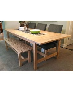 If Space Is Tight Around Your Dining Table, A Bench Might Be A Good Fit!  The NORDEN Bench Is A Sturdy Choice For A Growing Family, And Tucks  Underneath The ...