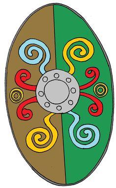 Celtic Light Infantry Shield