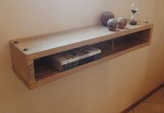 Box Shelves, Interior Decorating, Interior Design, Floating Nightstand, Bedroom Ideas, Artisan, Rustic, Antiques, Table