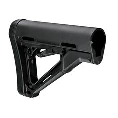 The Magpul CTR (Compact/Type Restricted) - Mil-Spec Model is a drop-in replacement buttstock for carbines. Tactical Rifles, Firearms, Ar Lower, Rifle Accessories, M4 Carbine, Rifle Stock, Guns And Ammo, Weapons