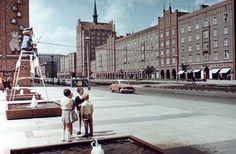 Lange Straße. Rostock, 1966