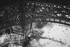 Under the Eiffel Tower Paris International by LoudWaterfallPhoto, $18.00