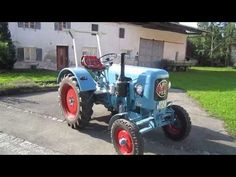 Eicher tractor ed22 - what a sound !