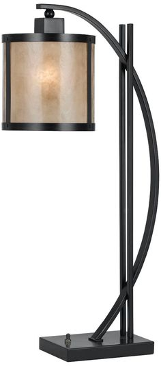 Natural Iron and Mica Table Lamp #W6005 149.91