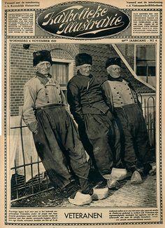 Volendam oude vissers cover 6 nov 1929 #NoordHolland #Volendam